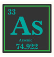arsenic chemical element with atomic number