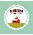 farm fresh emblem icons vector image vector image