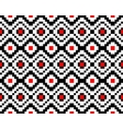 Trendy seamless ethnic pattern vector image