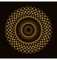 Abstract cosmic circle vector image vector image