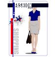 al 0412 shopping vector image vector image