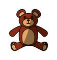 bear toy cartoon vector image vector image