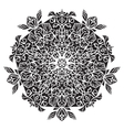 Circular pattern Islamic ethnic ornament for vector image