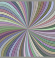 colorful hypnotic abstract swirl stripe vector image