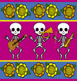 day of the dead 11 vector image