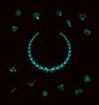laurel wreath - symbol graphic elements for your vector image