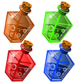 potions6 vector image vector image