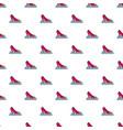 princess shoe pattern seamless vector image vector image