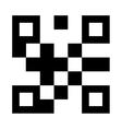 qr quick response code vector image
