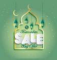 ramadan kareem islamic arabic design vector image