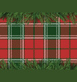 red green checkered pattern background with vector image
