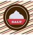 Salt icon design vector image