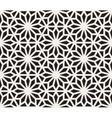 seamless black and white geometric hexagon