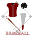 Sport uniform vector image vector image