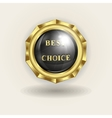trademark best choice vector image vector image