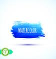 Watercolor Paintbrush Mark Banner vector image