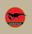 Cannibal Island vector image vector image