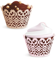 Cupcake and muffin vector image