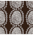 curl pattern vector image vector image