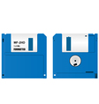 floppy diskette vector image