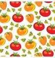gardening seamless pattern vector image vector image