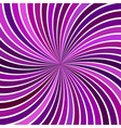 purple abstract hypnotic spiral ray burst stripe vector image vector image