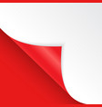 shape of bent angle is free for filling red color vector image