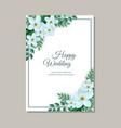 tender wedding vector image