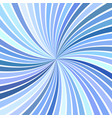 blue abstract psychedelic swirl background from vector image vector image