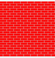 cartoon seamless flat brick wall texture vector image