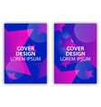 cover design poster with stars and colorful vector image vector image