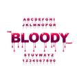 drops art bloody art jam art modern vector image vector image