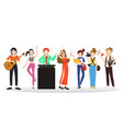 People of diverse professions vector image