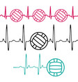 pulse water polo set vector image vector image