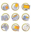 hi-tech equipment vector image