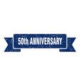 50th anniversary ribbon anniversary grunge