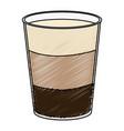 coffee shake fresh icon vector image vector image