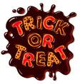 halloween gingerbread cookies trick or treat vector image vector image