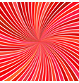 red geometrical abstract vortex background from vector image vector image