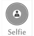 Selfie icon vector image