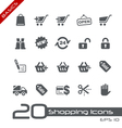 Shopping Basics Series vector image vector image