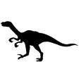 velociraptor vector image vector image