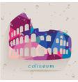 coliseum tri vector image