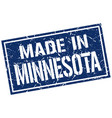 made in minnesota stamp vector image vector image