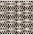 metallic background plates steampunk vector image