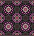 pattern mandala decoration vector image