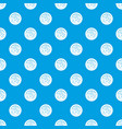 peppercorns on a plate pattern seamless blue vector image vector image