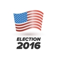 United States Election Vote sign vector image vector image