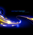 abstract light speed in vector image vector image