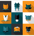 Bright dogs vector image vector image